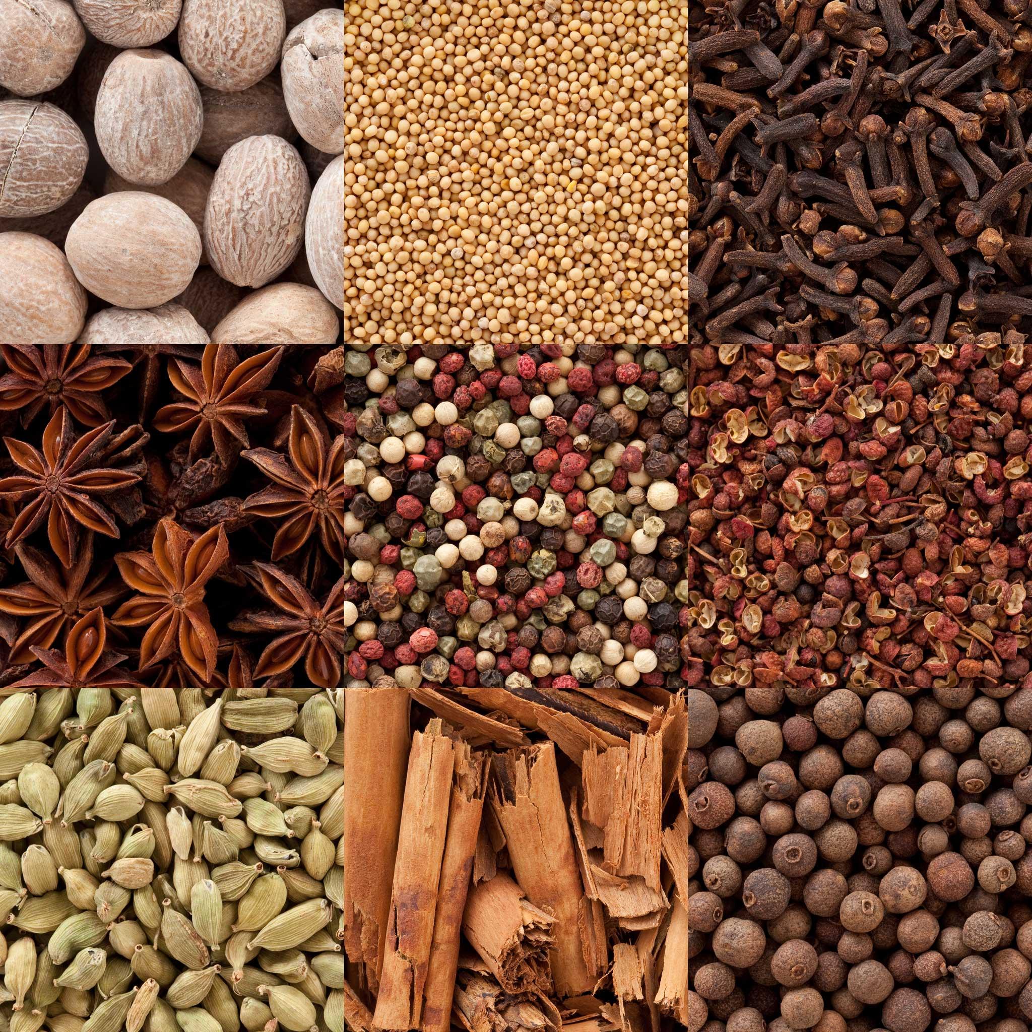 Cuisine et sens - Gamme des épices