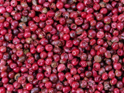 Baie rose - huile essentielle bio pour la cuisine
