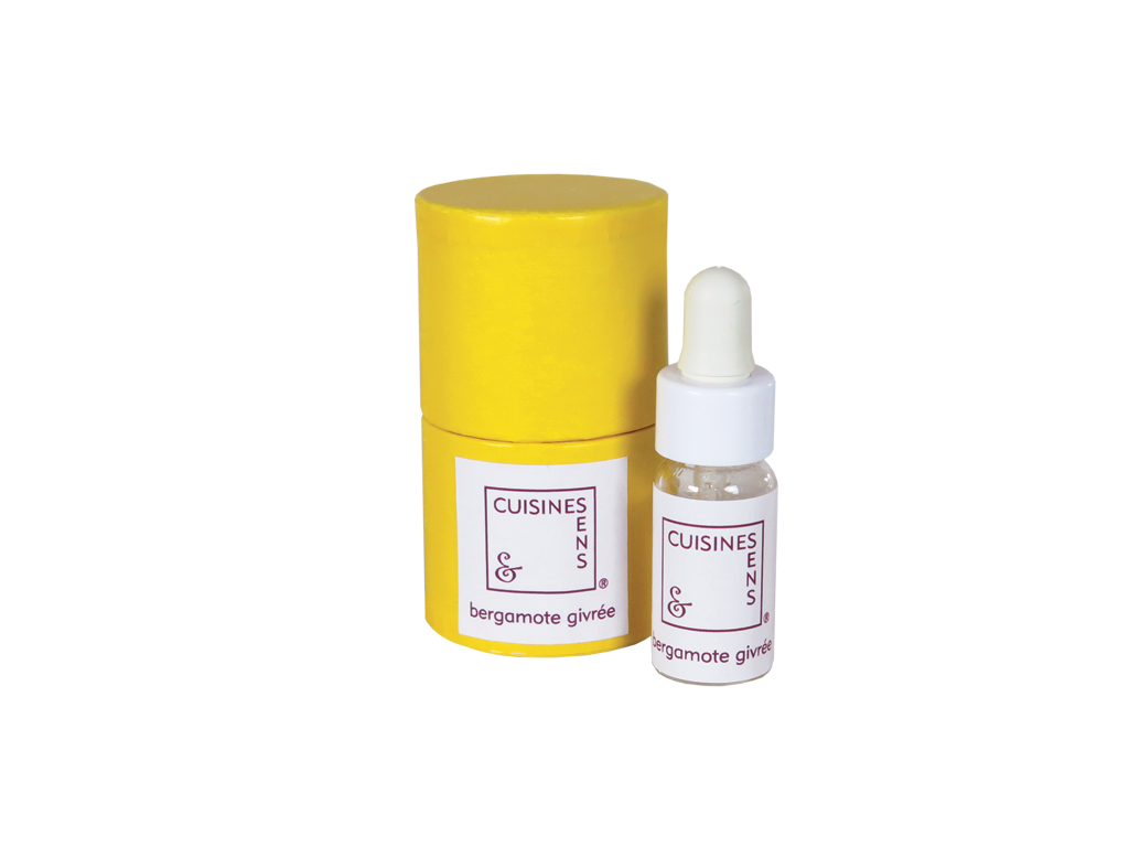 Bergamote givrée - huile essentielle bio pour la cuisine