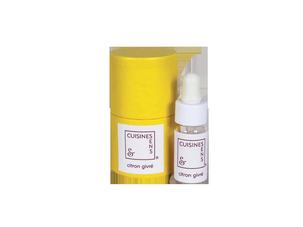 Citron givré - huile essentielle bio pour la cuisine