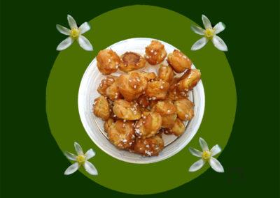 Chouquettes à la fleur d'oranger