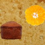 Petits cakes fromage blanc et orange givrée