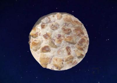 Kaseknepfle à la crème et noix muscade