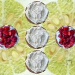 Fraises sur sablé et crème chantilly bergamote