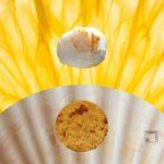 Coquilles Saint Jacques, orange givrée et vinaigre de cidre