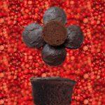 Moelleux cake au chocolat et baie rose