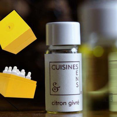boîte huiles essentielles cuisine et sens