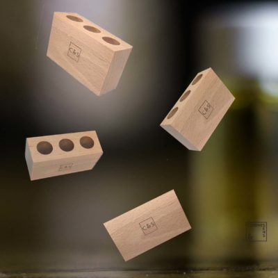 présentoir 3 huiles essentielles cuisine et sens